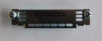 cisco tapa para slot de router