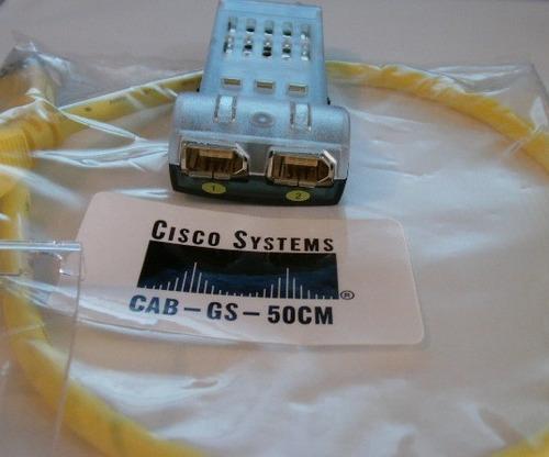 cisco ws-x3500-xl gbic gigastack  modulo com cabo