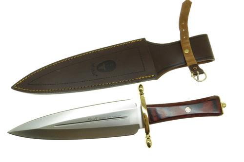 ciserm muela serreño m  cuchillo caza filo plano con fnda