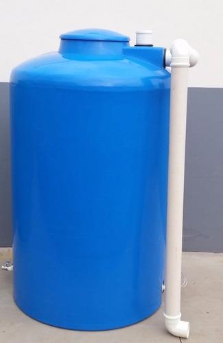 cisterna 2000 litros pronta uso - tambor caixa da agua balde