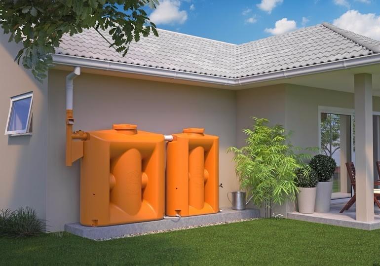 Cisterna vertical 1000 litros caixa de gua reservat rios for Estanque para agua de 1000 litros
