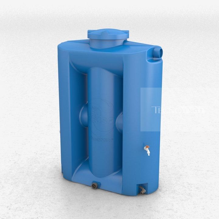 Cisterna vertical 600 litros para gua pot vel r for Tambores para agua