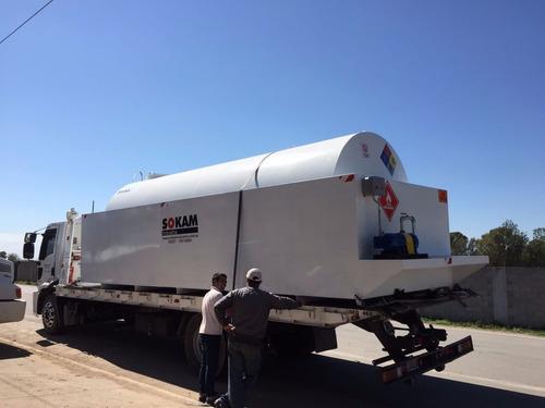 cisternas para almacenamiento de combustible