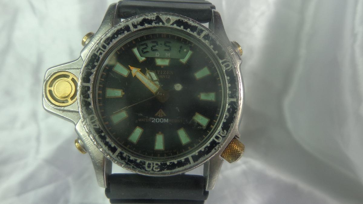 e864bdfdf7d Citizen Aqualand Promaster Serie Ouro C 022 Relogiodovovô. - R ...
