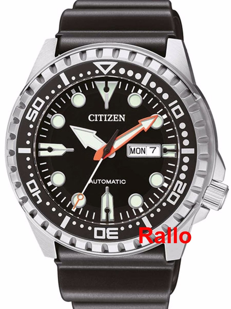 d17260da6af Citizen Automático Diver Marine Black 100m Nh8380-15e Top - R  950 ...