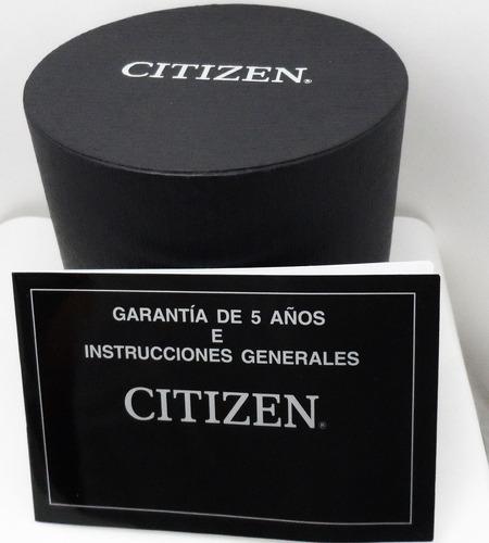 citizen aw1158-05l acero caucho azul deportivo -kairos-