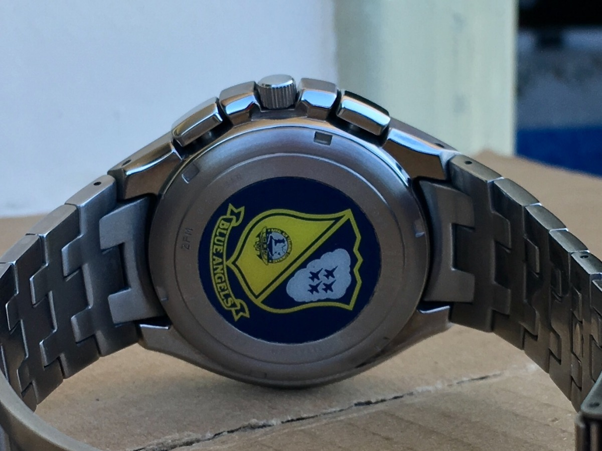 0d6927cb43a citizen blue angels titanium skyhawk jr3090-58m eco drive. Carregando zoom.
