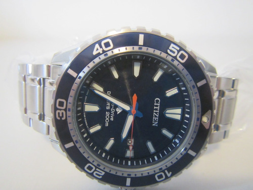 citizen bn0191-80l eco-drive aqualand diver japan 200 m