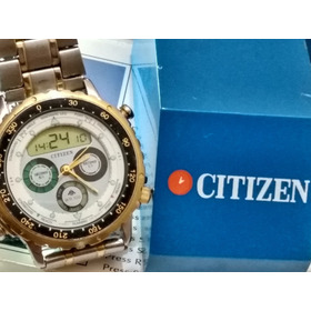 Citizen C050 Yachting Série Ouro - Promaster Wind Surf