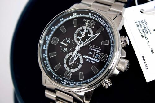 citizen ca0290 eco-drive nighthawk chronograph pilots