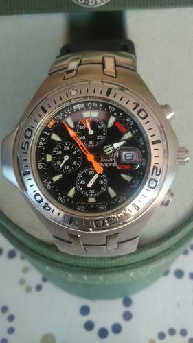 citizen eco drive chronograph de buzo