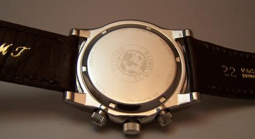 citizen ecodrive chronograph h500 jumbo 10 puntos igual a 0k