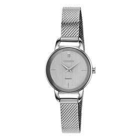 Citizen Ez7000-50a Cuarzo Elegant Silver Dial ..... Dcmstore