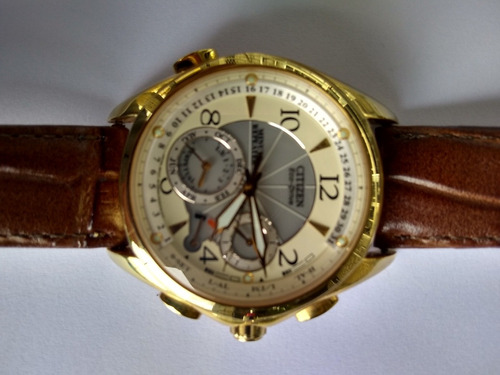 citizen minute repetear model g90 * eco driver energia solar