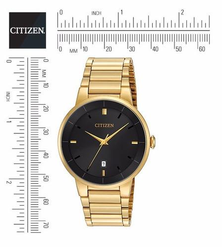 citizen quartz bi5012-53e -watchsalas- hombre dorado