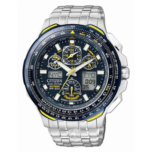 citizen reloj eco-drive jy0040-59l blue angels skyhawk a-t