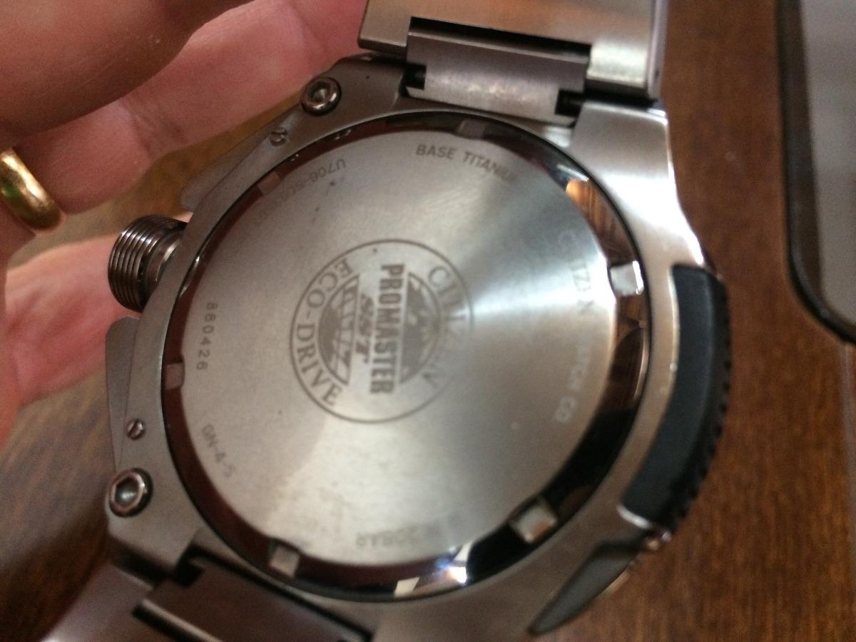 d5d508bfe5a citizen super chronograph jw0071-58e titânio. Carregando zoom.