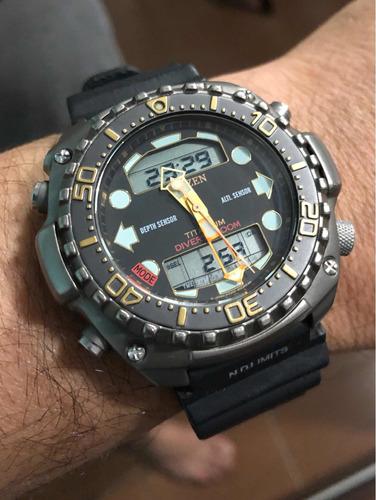 citizen titanium 3020 aquamounth