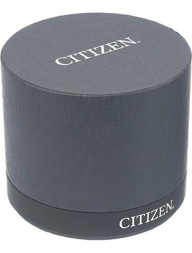 citizen titanium eco drive cuero marrón modelo bl5551-06l