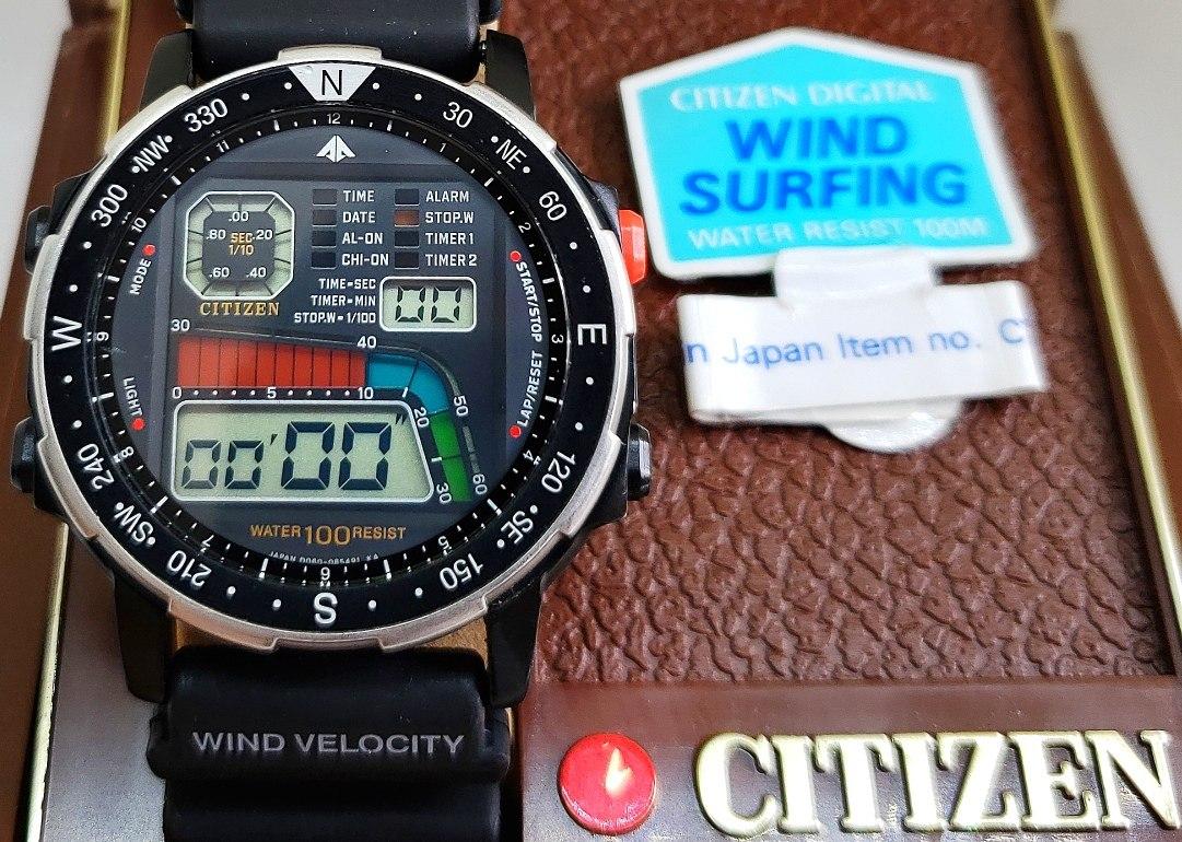 d8bf453a197 citizen windsurf d060 - wingman aqualand promaster raro. Carregando zoom.