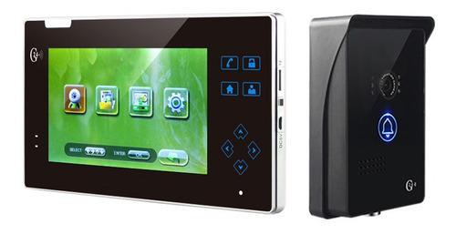 citofono inalambrico,video portero exterior,monitor lcd 7