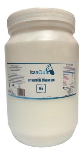 citrato de magnesio isaaquim 1 kg (4 pzs) envio full