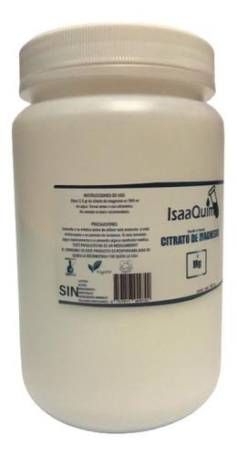 citrato de magnesio isaaquim 500g (3 pzs) envio full