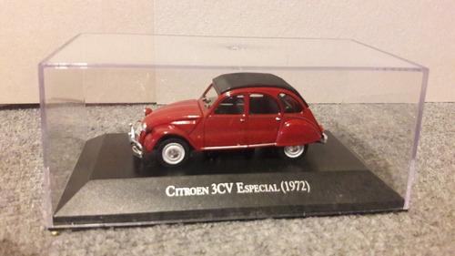 citroen 3 cv  special 1972 1/43  con caja acrilico !!!!
