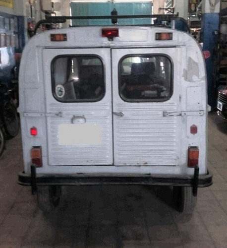 citroen 3cv ak furgón vidriado no-restaurado