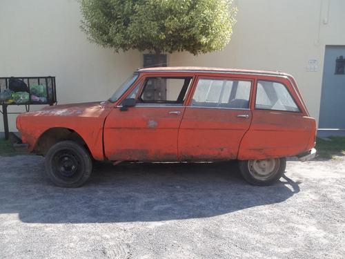 citroen ami 8 modelo 1972