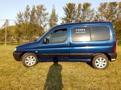 citroen berlingo motor 1.4 i 2007 azul 5 pasajeros