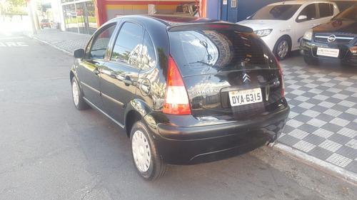 citroen c3 glx 1.4 flex 2007 completo e com 04 pneus novos