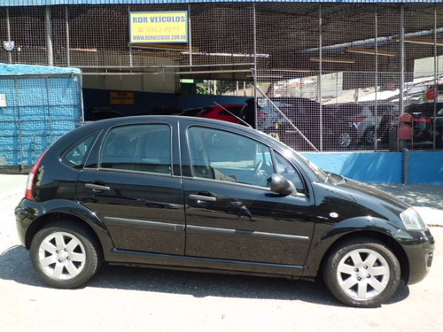 citroen c3 glx 1.4 preto 4 portas 2012 couro. oferta!