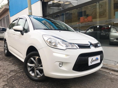 citroen c3 tendence 1.2 manual completo branco - 2017