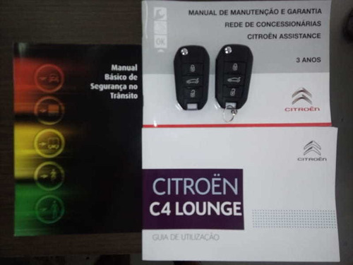 citroen c4 lounge feel 1.6 turbo flex aut