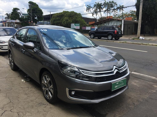 citroen c4 sedan 1.6 16v 4p thp lounge shine automático