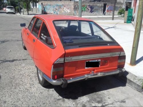 citroen gs especial 1600 1981