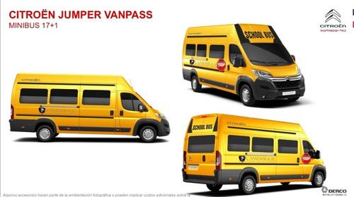 citroen jumper 17+1 pasajeros, financiación pague en el 2021