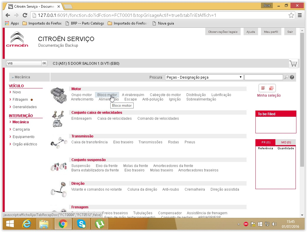 citroen service box 2013 2014 sedre r 148 84 em mercado livre. Black Bedroom Furniture Sets. Home Design Ideas