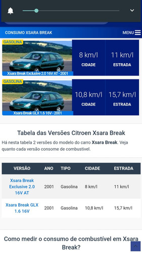 citroen xsara break glx 1.6 2002/02