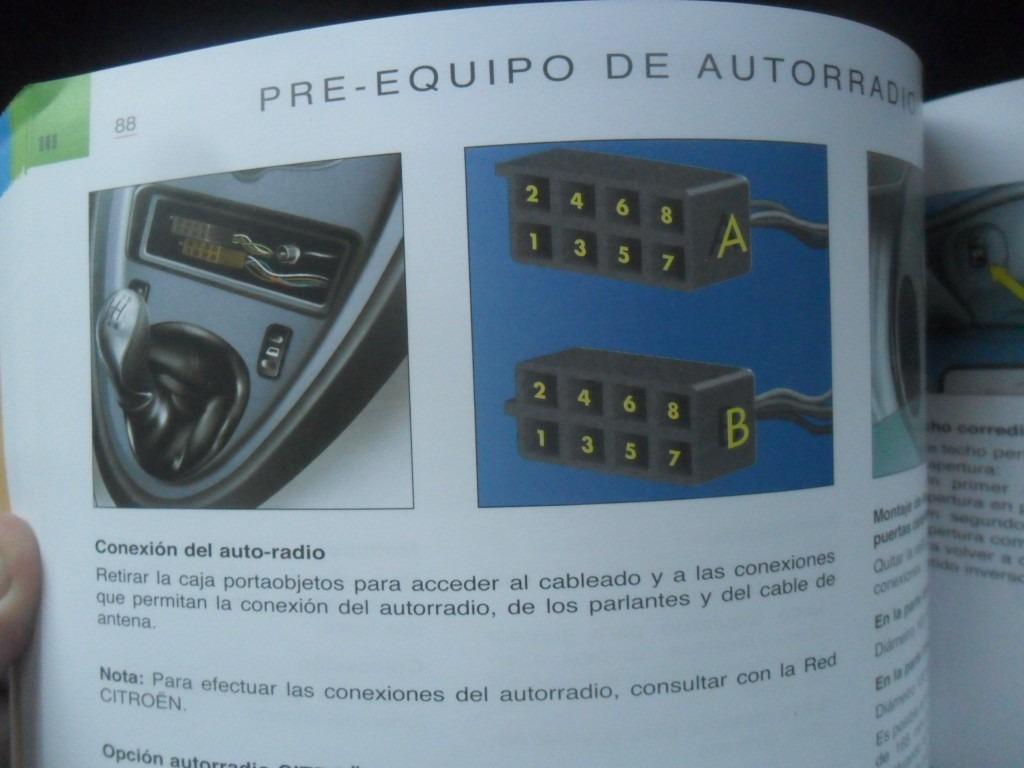 citroen xsara picasso 2008 manual instrucciones guantera. Cargando zoom.