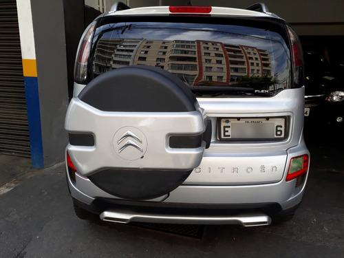 citroën aircross 1.6 16v glx flex 2011 prata