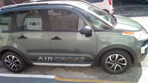 citroën aircross 1.6 flex -impecável- banco de couro - 2012