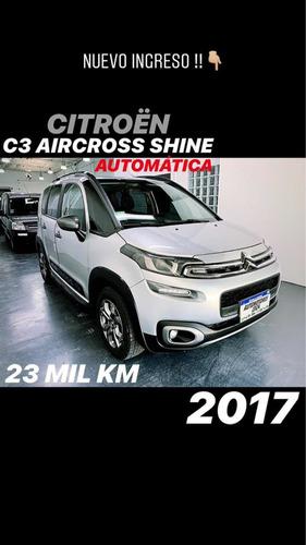 citroën aircross 1.6 vti 115 shine at6 2017