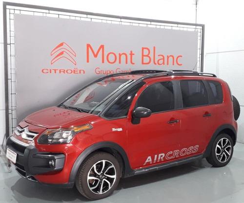 citroën aircross tendance 1.6 flex aut 2015 vermelha