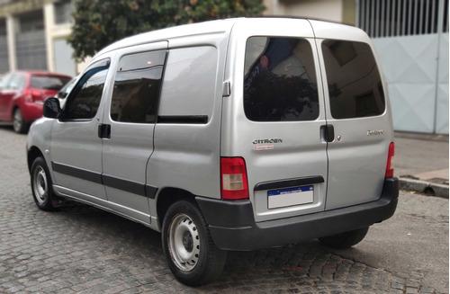 citroën berlingo furgon 1.6 hdi mixto 166000km gris claro