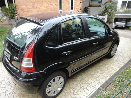 citroën c3 1.4 8v glx flex 5p 2011 couro rodas preto novo !!