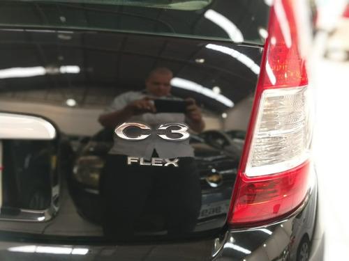 citroën c3 1.4 8v glx flex 5p - sem entrada!!!