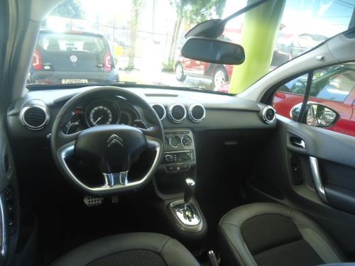 citroën c3 1.6 vti 16v exclusive flex aut. 5p vermelho 2014