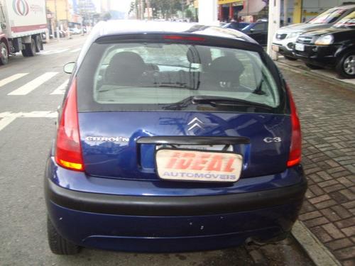 citroën c3 2007 1.4 8v glx flex 5p esquina automoveis